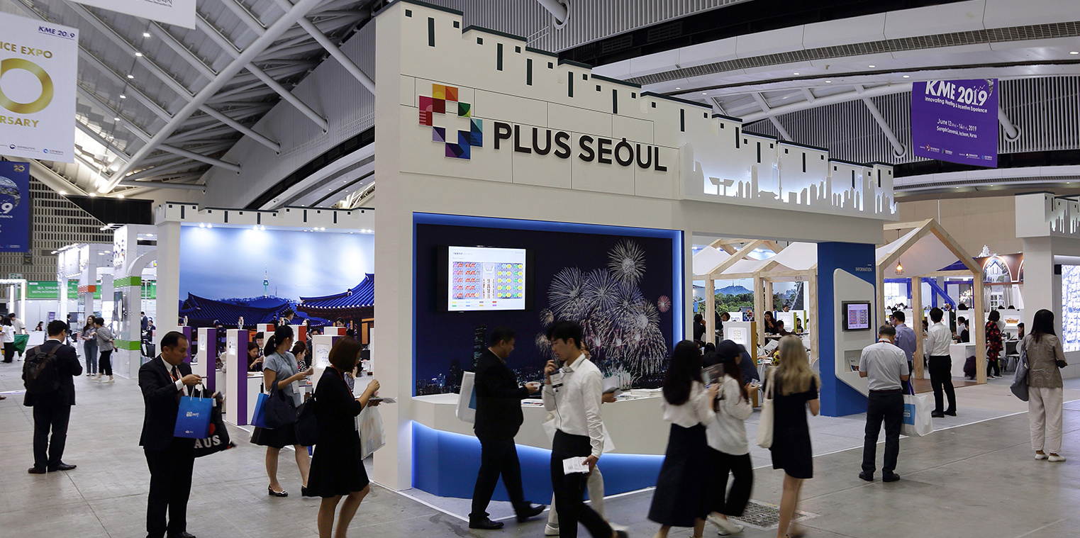 'KME 2019', THE LARGEST MICE INDUSTRY EXHIBITION IN KOREA