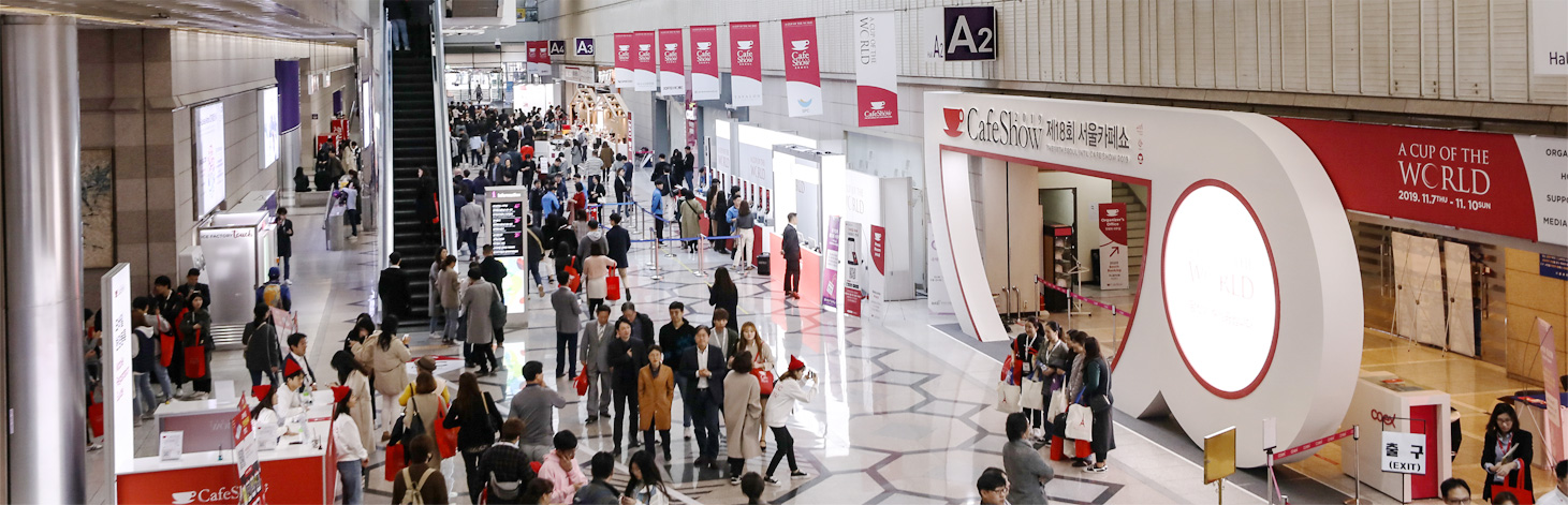 """Asia's biggest café EXPO held in Seoul """"Cafe Show Seoul 2019"""""""