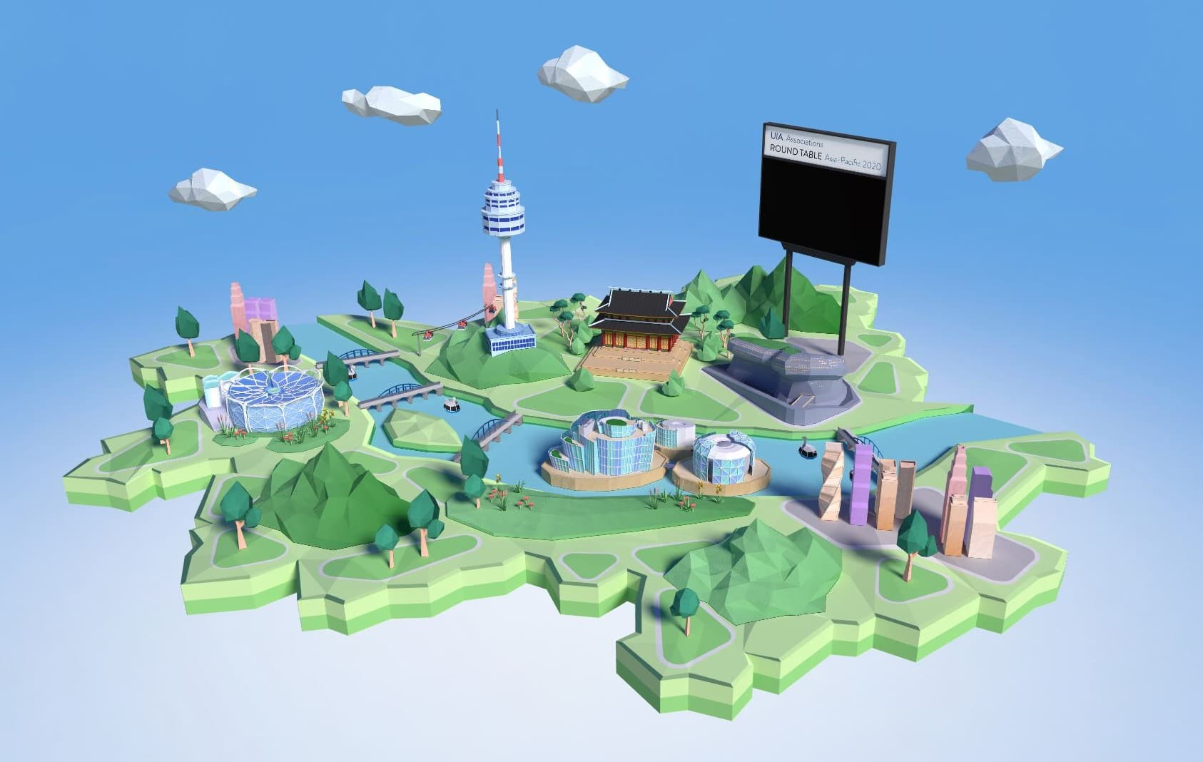 [Case Study] Seoul held UIA Associations Round Table Asia-Pacific 2020 in 3D virtual Seoul